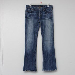 Citizens of Humanity dark wash bootcut jeans